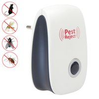anti killer - EU US Electronic Ultrasonic Anti Pest Insect Bug Mosquito Cockroach Mouse Killer Repeller Control V V HOA_801