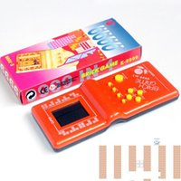 Wholesale Specia Tetris game l Classic nostalgia brand new handheld palms Snake game interesting Children toy gifts