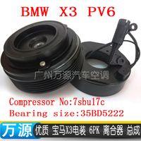 auto fan clutch - BMW X3 pk auto air conditioning compressor electromagnetic clutch FOR Compressor No SBU17C Bearing Size