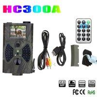 Vente en gros-1Pcs Suntek HC300 HC-300A scouting caméra de chasse de chasse 12MP Cam HD 940NM infrarouge de la faune sauvage Night Vision IR Trail