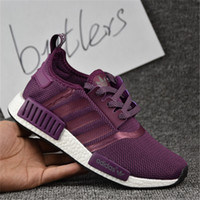 Cheap 2017 Adidas Original New NMD Runner Primeknit Men'S Running Shoes Fashion Running Sneakers for Men and Women For Sale Free Ship With Box