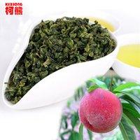 alishan oolong - C WL057 g Taiwan Alishan High Mountain Tea Peach Flavour Oolong Tea Frangrant Tieguanyin tea Good Tikuanyin