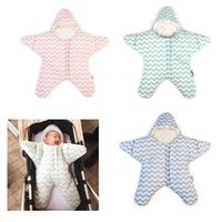 Wholesale Five Star Starfish Baby Sleeping Anti kick by the Baby Was Thick Cotton Autumn and Winter Coveralls