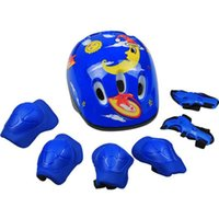bicycle for health - 7 Set Skate Protective Gear Skating Roller Skates Protective Gear Bicycle Helmet For Kids Health Care Tools
