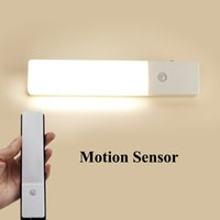 No baby closets - USB LED Night Light with Motion Sensor Rechargeable Wall Light for Closet Cabinet Bathroom Stairway Hallway Baby Kids Wireless Light