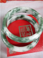 Wholesale Natural Jade Bracelet The width is about mm mm the diameter of mm mm M821