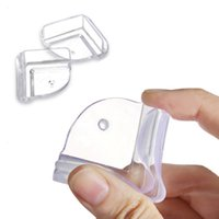 baby product samples - 10P Cushion Baby Security Safe Child Kids Safety Products Glass Table Corner Guards Protector Control Children Securite Silicone