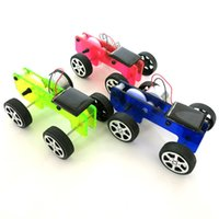 best power technology - DIY Solar Power Car Physics Experiment Science and Technology Model Car Toy Assemble Kit Best Birthday Gift For Children Boys
