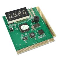 Wholesale PCI ISA Card Analyzer Motherboard Mother Board Tester Diagnostic Card Digit Display for PC Computer Debug