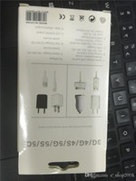 Wholesale USB power adapter USB Ports Charger US Plug Wall Adapter For phone i5 i6