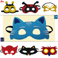 Cat/Gatto Mask animal activities kids - Special assorted felt animal masks for birthday Easter party cosplay natural activity Christmas gifts for years old kid