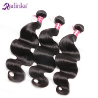 Wholesale Body Wave Unprocessed Brazilian Virgin Hair Weaves Inch Natural Black Human Hair Weft Extensions