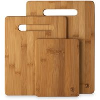 Wholesale Totally Bamboo Piece Bamboo Cutting Board Set For Meat Veggie Prep Serve Bread Crackers Cheese Cocktail Bar Board