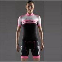 Wholesale 2016 NEW ALE women Cycling Jerseys Set Short Sleeve With Padded Bib Trousers Men Summer Cool Cycling Skinsuit Bike Wear XS XL