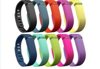 Wholesale Fitbit Flex strap With Clasp Replacement TPU Wrist Strap Wireless Activity Bracelet Wristband With Metal Clasp No Tracker Colors US04