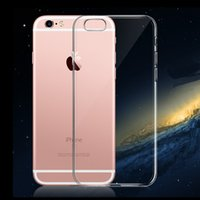 apple jellies - Goospery Clear Jelly Back Phone Cover For Iphone s plus Transparent Case With Dust Plug dustproof TPU Cover With Retail Package