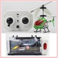 axial rc - 2017 Model King Mini Indoor Remote Control Co Axial Metal RC Helicopter with Light Built in Gyroscope Kids Toy Gift VS Fairy Doll