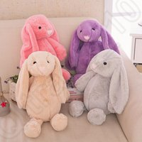 Wholesale 30cm Easter Bunny Short Plush Rabbit Toys Stuffed Cartoon Animal Doll Rabbit Plush Toys For Children B1115