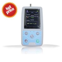 Wholesale Free ship CE Approved CONTEC ABPM50 hours Patient Monitor Ambulatory Automatic Blood Pressure NIBP Holter with USB cable PC software