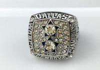 El anillo 1977 del campeonato de los vaqueros de Dallas libera el envío