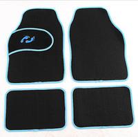 Wholesale new set Universal Car auto foot mat auto anti slip mat Car Floor Mat colors