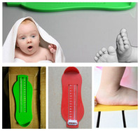 baby ruler - Kids Baby Foot Measuring Gauge Infant Shoe Measure Tool Infant Foot Shoes Size Measuring Ruler Tool color LJJK632