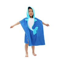 Wholesale 8 types New Cartoon Animal Baby Hooded Bathrobe Baby Towel Children Bath Kids Infant Baby Bathrobe
