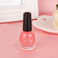 base nail enamel - PC ml BK Brand Calcium Base Coat Nail Polish Protect The Nails Professional Nail Art Nail Enamel Cosmetic