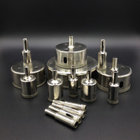 Wholesale Glass Drill Bit Diamond Core Drill Bit set Ceramic Hole Saw For Glass Marble Tile or Granite etc mm