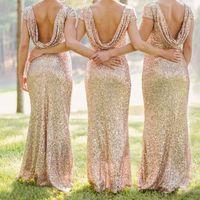 abraham pictures - High quality European new women s gold color dress high grade sequin wedding bridesmaid dress for farrah abraham