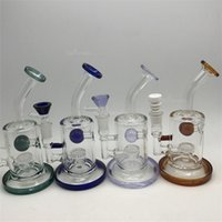 Glass ball small - TORO Oil Rigs Glass Gongs Jet Perc Bong ball rig purple honeycomb bubbler water pipes heady dab rig Pipe bongs percolator bowl small mini