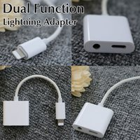 apple charger extension cable - Dual Function iphone charger Adapter to mm Headphone For iphone plus With Extension iphone charging Cable