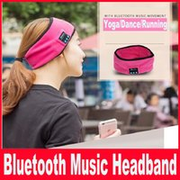 Wholesale Bluetooth Music Headband Magic Stereo Sports Yoga Stretch Head Belt Wrap Caps Perfect Gifts With Bluetooth Music Movement