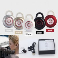 Cheap High quality Multipurpose Bluetooth 4.1 Micro Wireless Headset Mini 6 Stereo in ear Headphone Earbuds Earphone for iPhone 6s Samsung s7 edge