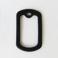 Wholesale 100 pieces per Square Army Dog tag rubber silicone silencer for military Army Dog Tags