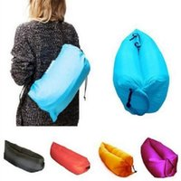 Wholesale Outdoor super light Europe Beanbag foldable inflatable sofa lazy beach bag