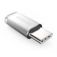 Wholesale dodocool Mini USB C to Micro USB Adapter Convert USB Type C to Micro USB Connector for MacBook ChromeBook Pixel Nexus X Nexus P DA71