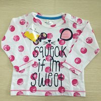 baby t shirts supplier - Popular baby girls names for girls long sleeve t shirt children wear children s boutique clothing directly supplier China