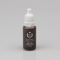 tattoo ink sets - BioTouch Permanent Makeup Pigment Tattoo Ink Set ML BROWN Micro Pigment Used for Microblade Pen Machine Tattoo Inks