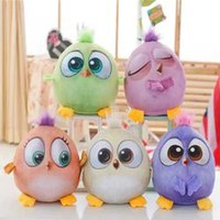 Wholesale 2016 burst angry angry cute colored bird bird big movie doll pillow plush toy birthday gift send the child to send his girlfriend