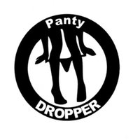 Wholesale 12 CM CM Panty Dropper Funny Car Decals Window Stance Car Stickers Car Styling