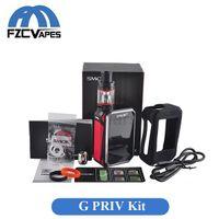 advance kit - Original SMOK G Priv W Kit with TFV8 Big Baby Tank Standout Combo Advanced Vaper Kit Touch Box Ecig