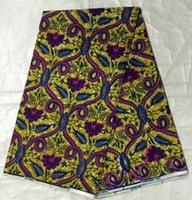 batik fabric patterns - High quality fish pattern Nigerian design African hollandais super wax fabric printed batik cotton material for sewing clothing