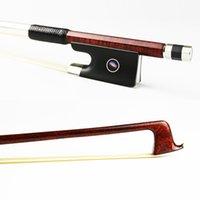 Wholesale NEW Size Hard Carbon Fiber Violin Bow Pernambuco Skin Concerto Level