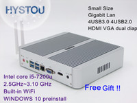Commercial aluminum forming - HYSTOU Intel th Gen Small Form Factor Computers i5 u Aluminum Alloy Case Embedded i5 Micro RJ45 Lan WiFi HDMI K