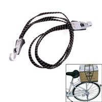 bicycle rack straps - Bike Luggage Carrier Retractable Elastic Band Bicycle Cargo Racks Rubber Band Strap Rope With Hooks