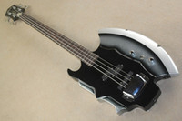 Solid bass guitar frets - Chinese Factory Custom New Top Quality string SIMMONS AXE frets with electric bass guitar