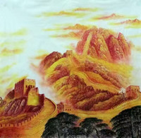 Wholesale The Great Wall painting series from the famous painter have been collected in many countries Can be made to order