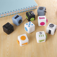 adult science - Fidget Cube Xmas Children Toy Adults Stress Relief Cubes COLORS