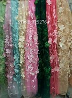 Wholesale 2017 Best Selling fushiapink African Lace Fabric Nigerian French Fabric High Quality African Tulle Lace Fabric